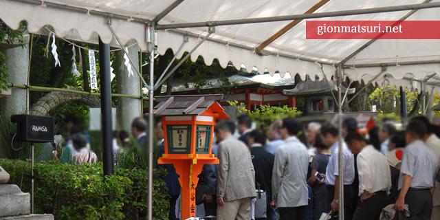八坂神社疫神社の夏越祭