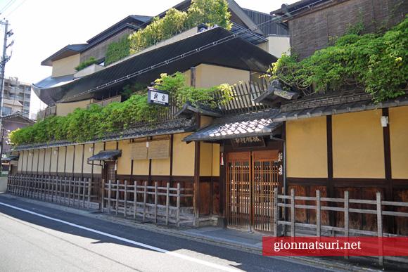 柊家旅館で祇園祭