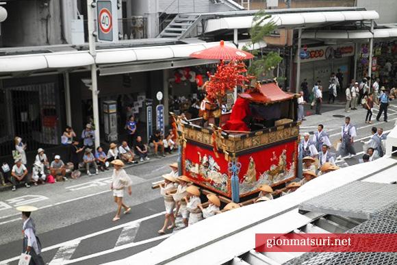 井筒ホテルで祇園祭を楽しむ