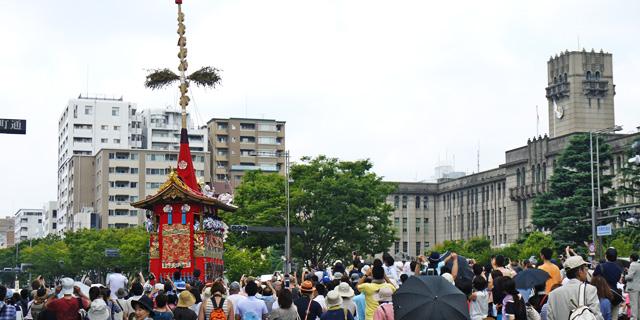 京都市役所 祇園祭